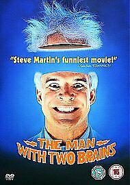The Man With Two Brains Dvd Steve Martin Brand New & Factory Sealed