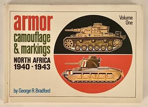 Armor Camouflage & Markings North Africa 1940-1943 Tanks WWII Axis Allies 1971
