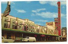 Las Vegas Club NV Gambling Casino Old Van & Car Postcard