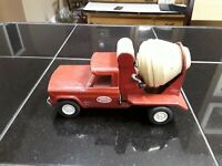 Vintage Tonka Toy Cement Mixer. Pressed Steel. Collectible Toys.