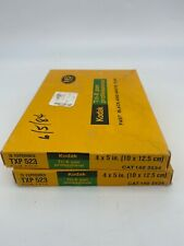 2 Kodak Tri-X Pan Professional  Film TXP 523 Packs Film Expired 1984 16 Exposure