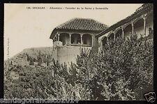 1130.-GRANADA -134 Alhambra -Tocador de la Reina y Generalife