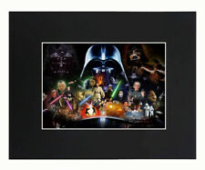 Star Wars Movie Art Print Picture Photograph 8x10 Matted Poster U.S Seller