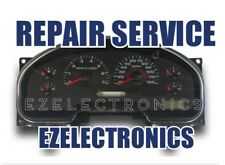 2004 TO 2008 FORD F150 INSTRUMENT CLUSTER REPAIR SERVICE.