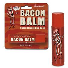 Bacon Flavoured Lip Balm Beauty Toiletries Vegetarian Novelty Gift Present Lips