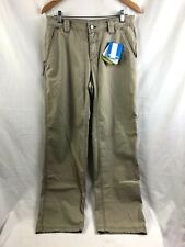 Columbia Griphoist Casual Pants Mens 32 x 32 Beige Cotton Blend Brand New
