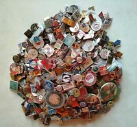 LOT OF USSR SOVIET ERA PIN BADGES.Various topics. From 25 to 250 pieces.
