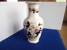 Masons Blue Mandalay Eight Sided Vase 25 cm