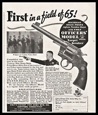 1936 Colt Officers' .38 Special Revolver Print Ad