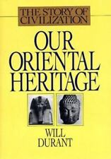 Our Oriental Heritage (Story of Civilization) Will Durant Hardcover Book LikeNew