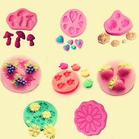 3D Silicone Fondant Mold Chocolate Sugarcraft Baking Mould Cake Decorating Tool