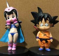 13CM Dragon Ball Z DBZ Young Son Goku/Gokou & ChiChi Figure Toys Gifts