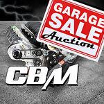 CBM Motorsports Garage Sale Auction