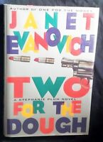 Two For The Dough: A Stephanie Plum Novel Janet Evanovich HB/DJ SIGNED 1ST ed.