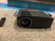 Projector, GooDee PS4, HDMI, VGA, AV and USB