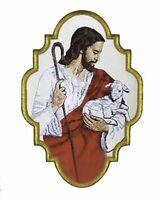"""Gestickte liturgische Applikation """"Guter Hirte"""" Kasel Messgewand AP4062620"""