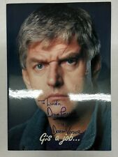 David Prowse Actor Pamphlet SIGNED (Personalized) Star Wars Darth Vader