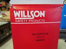 New Box of 6 Wilson T45 Chemical / HEPA Cartridges 14190045