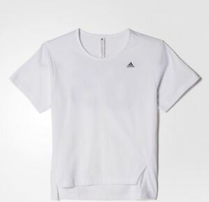adidas Performance Girls AA Number Tee White RRP £20 BNWT AY5355