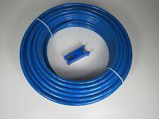 "3/8"" X 50' Roll TRUCK DOT/SAE J844 Nylon Air Brake Tubing BLUE"