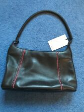 Tula Brown Leather Bag With Pink Detail New