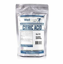 Citric Acid Powder - Fine Granular - 100% Pure Anhydrous - Pharmaceutical Grade
