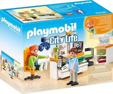 PLAYMOBIL Playset Oculist Series City Life Hospital 70197 New Original