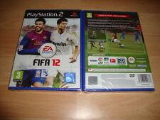 FIFA 12 2012 DE EA SPORTS PARA LA SONY PS2 NUEVO PRECINTADO