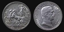 pci1303) Vittorio Emanuele III  (1901-1943) 2 lire Quadriga Briosa 1915