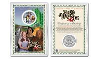 WIZARD OF OZ Cast OFFICIAL JFK Half Dollar U.S. Coin in PREMIUM HOLDER