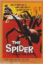 CLASSIC VINTAGE MOVIE POSTER SCI-FI TRADING CARDS PROMO CARD THE SPIDER PROMO 2