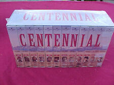 CENTENNIAL 12 VHS TAPE BOX SET NEW ANDY GRIFFITH LYNN RED GRAVE COLORADO