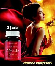 Lot of 2 boxes ANGELA GOLD Ginseng - Sexual Health Women Estrogen, Progesterone
