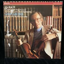 GIDON KREMER violin - BACH Violin Concertos - PHILIPS  ST LP 1984