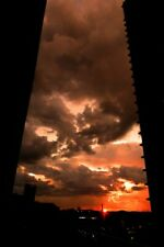 Sunset Atlanta Skyline Cityscape Georgia United States of America USA Photograph