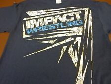 Impact Wrestling T-Shirt  TNA 10 Years of Total Non Stop Action Tee  Medium  Q2