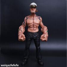 "12"" Popeye 1/6 Figure Sailor Resin Statue Realistic Tattoo Body Ver. In stock"