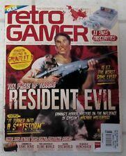 RETRO GAMER Magazine Essential GUIDE To Classic GAMES No 164 RESIDENT EVIL 10 Pg