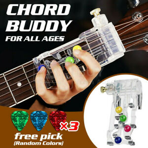 Classical Chord Buddy Guitar Learning System Teach Aid Practice Tool Beginners