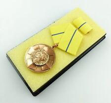 #e4590 Blücher Medaille für Tapferkeit (1968 hergestellt) Stufe Bronze Nr. 226 a