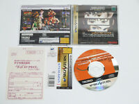 DEAD OR ALIVE w/Spine Registration Card SEGA Saturn Import Japan TECMO