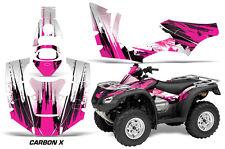 Honda Rincon AMR Racing Graphic Kit Wrap Quad Decal ATV 2006-2014 CARBON X PINK