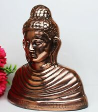 THAI BUDDHA MEDITATION  COPPER METAL STATUE FOR HOME DECORATION GIFT