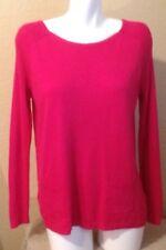 ANN TAYLOR LOFT Ladies Pink Knit Top Size M Excellent Condition