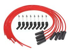 PerTronix 818480 Flame-Thrower Spark Plug Wires 8mm Universal LS Engine Red