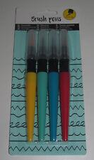 Set x4 Stylo Marqueur Pinceaux Couleur Mix Loisirs Créatifs Brush Pens
