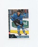 18/19 PANINI NHL STICKER #434 MARC-EDOUARD VLASIC SHARKS *57156