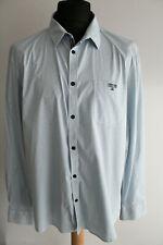 Gaastra Hemd Gr.2XL weiß mit blauen Punkten
