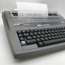 SHARP QL-310 Electric Typewriter Fully Working Vintage Retro With Original Box