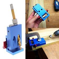 Mini Kreg Style Pocket Hole Jig Kit System Slant-hole device For Wood Working
